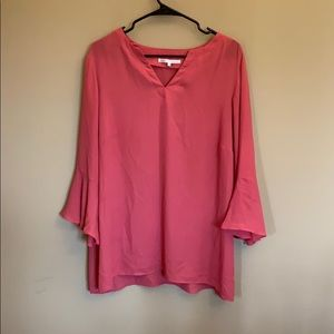 Violet & Claire bell sleeve top